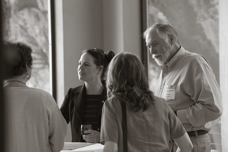 participants at Catalyst Salon
