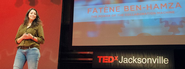 A conversation with Fatène Ben-Hamza after her TEDxJacksonville Talk